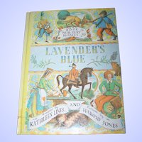 Children' s Book Lavender's Blue Nursery Rhymes