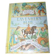 Children' s Book Lavender's Blue Nursery Rhymes