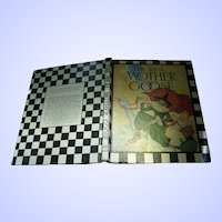 """Children's Vintage Illustrated Collectible Book"""" The Real Mother Goose """""""