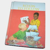 Vintage School Reader Roads to Follow  The New Basic Reader