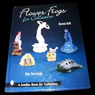 "Pre-Owned Reference Book ""Flower Frogs for Collectors """