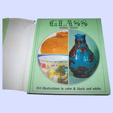 """Reference Book """" GLASS """"  George Savage 143 Illustrations"""