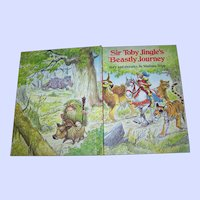 "Vintage Children' s Book "" Sir Toby Jingle's Beastly Journey "" By Wallace Tripp"