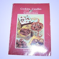 "Vintage Paperback Cook Book "" Cookies Candies & Confections "" Favorite Recipes Press"