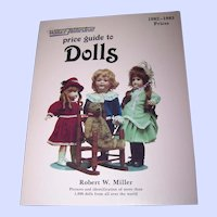"Soft Cover Reference Book "" Price Guide To DOLLS ""  Wallace - Homestead"