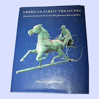 """Hard Cover Reference Book """" American Family Treasures """" National Heritage Museum"""
