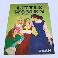 "Children's Book "" Little Women ""  by Louisa M. Alcott  C. 1976 DEAN"