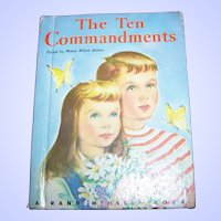 "What A Charming Little Children's Book "" The Ten Commandments """