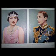 Pullout From The Halifax Herald Coronation King George VI Queen Elizabeth 1937