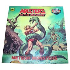 "Soft Cover Book Booklet "" Masters of the Universe "" Meteor Monsters by Jack C. Harris"