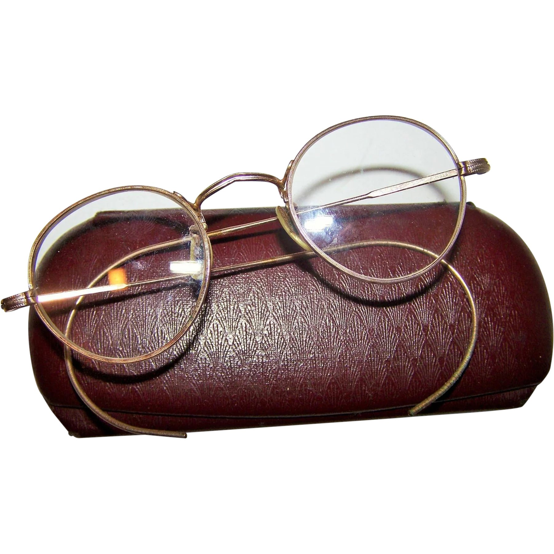 d9e29519ca0 Vintage Gold Plated Spectacles Glasses Eye Wear Regal Perfex   Victoria s  Purrrrfect Treasures