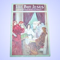 """Collectible Paper Booklet """" The Boy Jesus """" with Primary Lesson Picture Cards"""