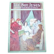 "Collectible Paper Booklet "" The Boy Jesus "" with Primary Lesson Picture Cards"