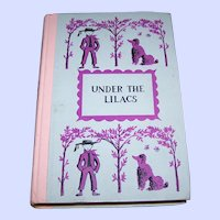 """Children's Book """" Under TheLilacs """"  Louisa May Alcott"""