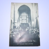"""Paper Back Book """" 250 Years Young """" Our Diocesan Story 1710-1960"""