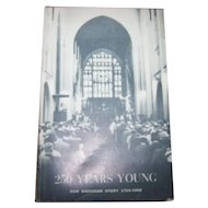 "Paper Back Book "" 250 Years Young "" Our Diocesan Story 1710-1960"