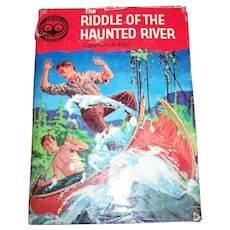 "Children's Book ""The Riddle Of The Haunted River "" Lawrence Earl"