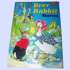 Over Size Children's Book Brer Rabbit Stories An Award Book