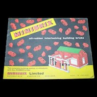 MINIBRIX Limited Paper Advertising Booklet Printed in England
