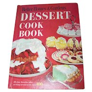 Better Homes& Gardens Dessert Cook Book Over 400 Recipes