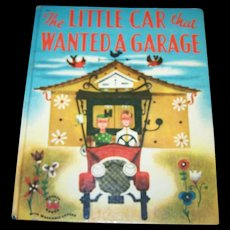 Children's Book The Little Car that Wanted A Garage  by Catherine Woolley