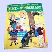 Adventures From The Original Alice in Wonderland Wonder Children's Book