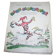 Hans Clodhopper Illustrated Children's Book retold Illustrated by Leon Shtainmets