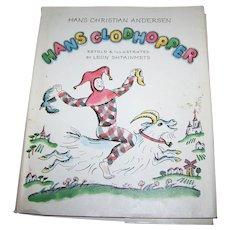 Hans Clodhopper Illustrated Children's Book retold Illustrated by Leon Shtainmets