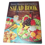 "Better Homes and Gardens "" Salad Book "" New Salad for Every Occasion"