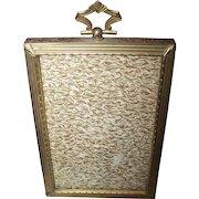 Lovely Vintage Decorative Brass Photo Photograph Picture Frame