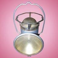 An Old Metal Ware  DELTA Powerlite Lantern Hand Held Railroad Battery Powered