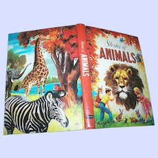 Hard Cover Children's Book Stories of Animals  by Virginia Cunningham