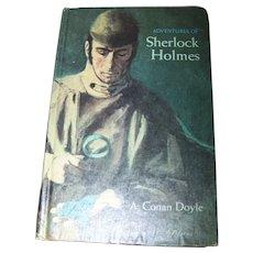 The Adventures of Sherlock Holmes A. Conan Doyle Hard Cover Book