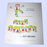 """Paper Back Children's Book """" Flat Stanley """" by Jeff Brown"""