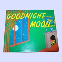 Charming Vintage Children's Book Good Night Moon By Margaret Wise Brown