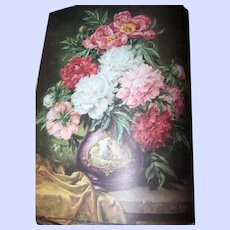 "Beautiful Vintage Book "" Friendship "" an ideals publication Floral Prints Pretty Enough to Frame"