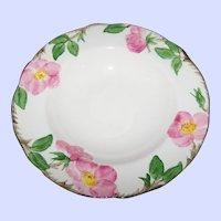 """Vintage Franciscan Earthenware Pink Desert Rose Pattern Soup / Salad Bowl  8.5"""""""