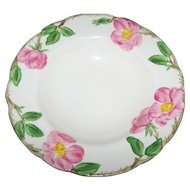 Earthen Ware Franciscan Desert Rose Salad / Soup Dish Bowl