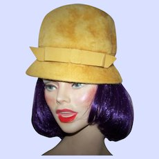What A Lovely Vintage Genuine Beaver Ladies Fashion Hat How Wonderful
