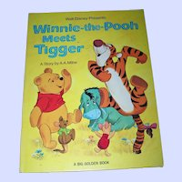 Walt Disney Presents Winnie-the-Pooh Meets Tiger Children's Oversize Book