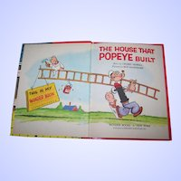 """A Wonder Book """" The House That Popeye Built """" by Crosby Newell"""