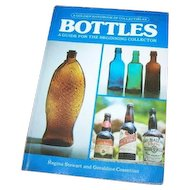 "Vintage Soft Cover Collector Referebnce Book "" Bottles A Golden HandBook of Collectibles "" 1976"