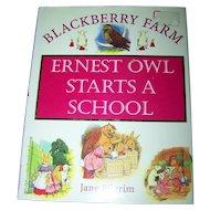 Children's Book Blackberry Farm Ernest Owl Starts A School Jane Pilgrim