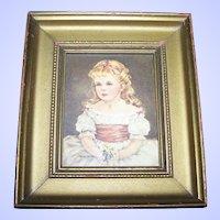 Framed  Wall Art Portrait Print Of Marian by Ann Allaban C & A Richard Boston , MASS