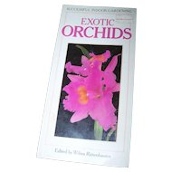 Soft Cover Book Booklet Exotic Orchids Successful Indoor Gardening