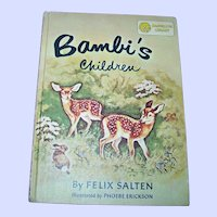 Dandelion Children's Flip Book Bambi's Children / Old Rosie, The Horse Nobody Understood
