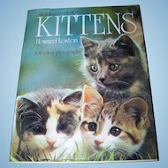 All Color Book of Kittens Howard Loxton 108 Color Photographs