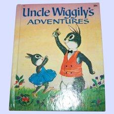 Charming Vintage Children's Book Uncle Wiggily's Adventures  Wonder Books
