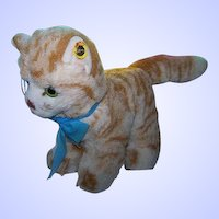 Oh What A Face Vintage Steiff Stuffed Animal Lizzy Mohair Kitty Cat