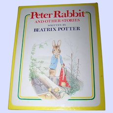 """Hard Cover Children's Book """" Peter Rabbit and other Stories Written by Beatrix Potter """""""